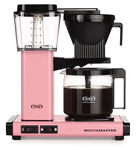 Moccamaster Filter Kaffeemaschine KBG 741 AO, 1.25 Liter, 1520 W, Pink