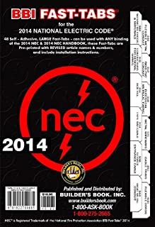 2014 National Electrical Code NEC Fast-Tabs For Softcover, Spiral, Looseleaf and Handbook