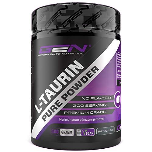 German Elite Nutrition -  Taurin Pulver - 500