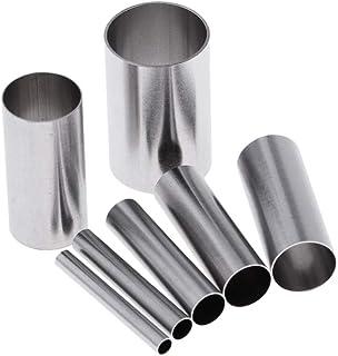 7本 ミニ金型 キッチンツール 丸形ムースリング 金型 ステンレス鋼