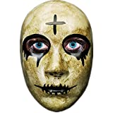 Grey Cross Horror Killer Purge mask Men,The Purge Anarchy Movie,Halloween Mask Masquerade Costume Party …