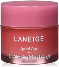 LANEIGE ماسک خوابیدن لب، بری، درمان لب، 0.7 قند