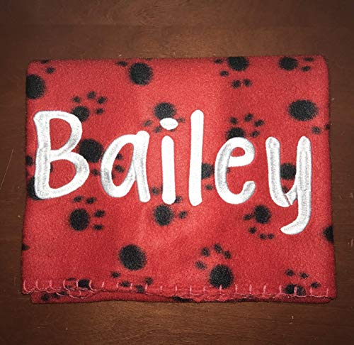 Dog Blanket, Personalized Blanket, Personalized Dog Blanket, Pet Blanket, Dog Gift, Pet Gift, Dog Accessories, ferret blanket, guinea pig