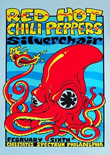 "Póster de reproducción ""Red Hot Chili Peppers – Corestates Spectru"