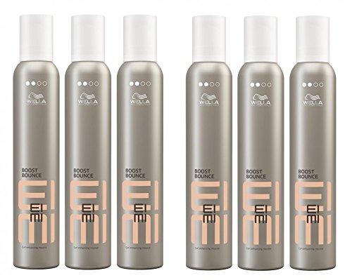 Wella EIMI Boost Bounce 6 x 300 ml Locken-Mousse Volume Schaumfestiger Styling Professionals