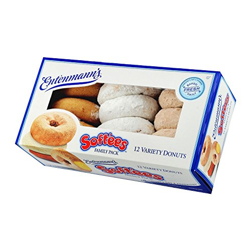 Entenmanns Softee Plain Donuts