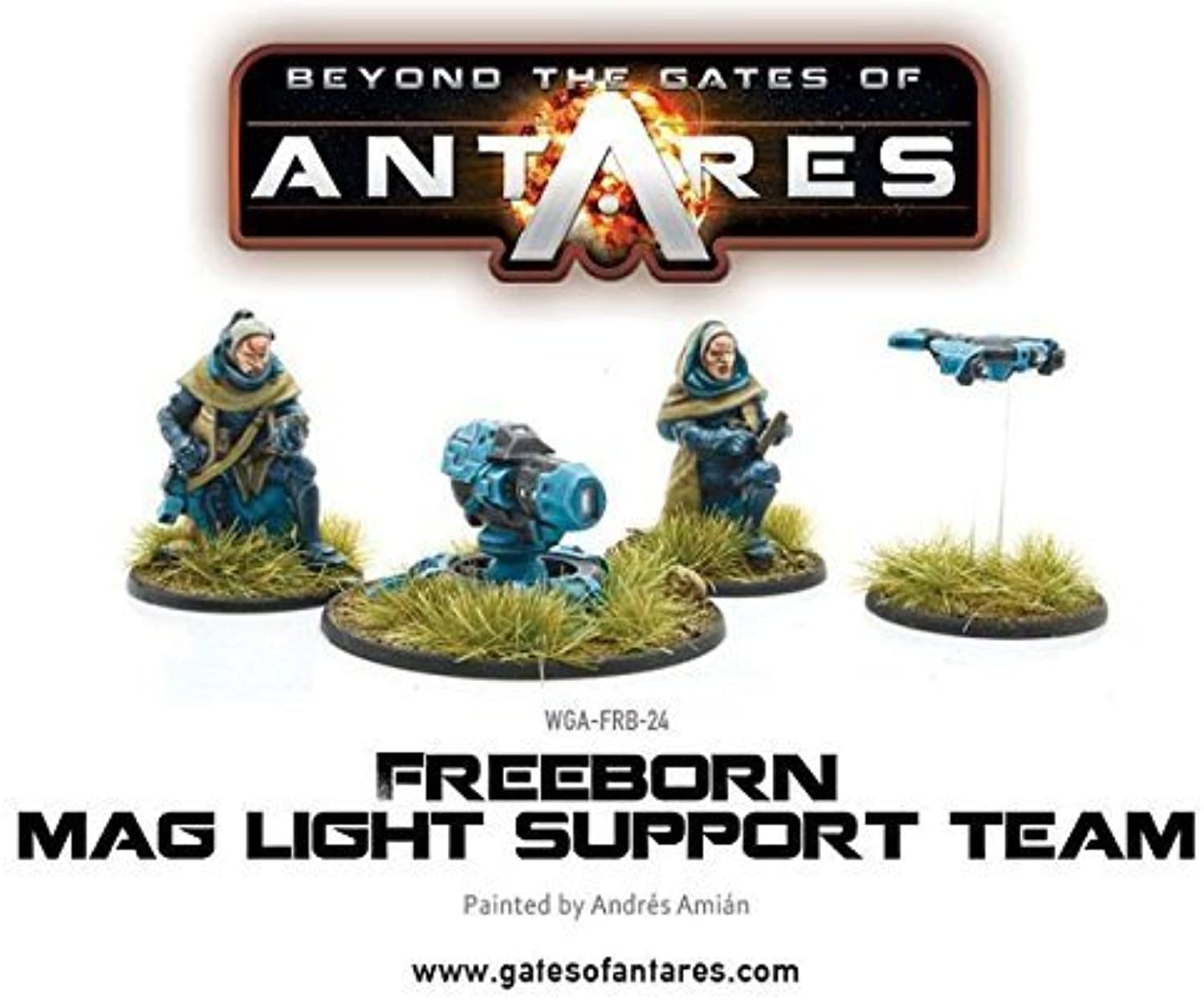 Gates of Antares  Freeborn Support Team with Mag Light support
