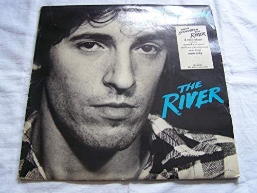 Bruce Springsteen The River + Lyric & Discog Inserts 1980 UK 2-LP vinyl set CBS88510