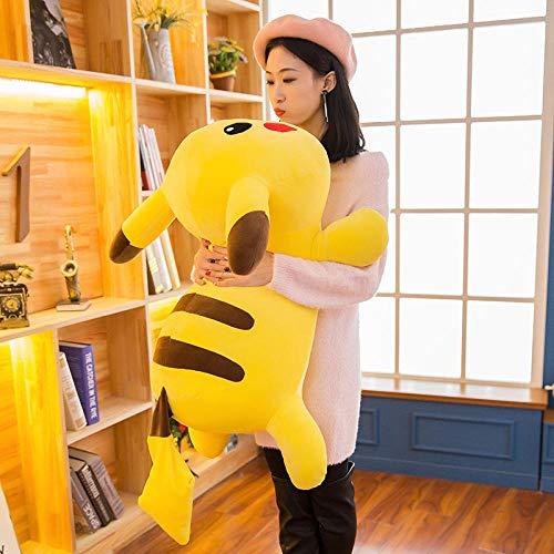 Recordever Pikachu Knuffel Pop Cartoon Kussen Creative Holiday Gift-geel _90cm (2kg)