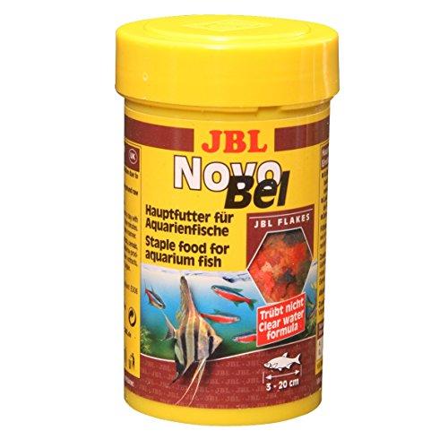JBL NovoBel Alleinfutter für alle Aquarienfische, Flocken 1 l, 30140