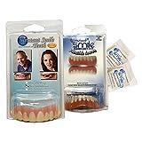 Instant Smile Veneer Set with Medium Top Set of White Teeth and Bottom Set of White Teeth with 2 Extra Pkgs Thermal Beads