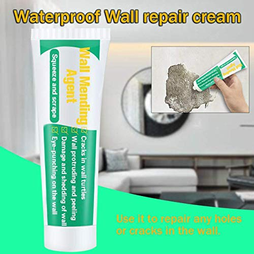 Drywall Patch, Wall Mending Agent, Quick & Easy Solution to Fill The Holes in Your Walls,Also Works on Wood & Plaster, Self-Adhesive Drywall Repair Putty