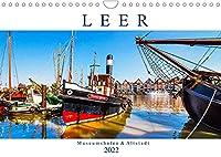 LEER Museumshafen und Altstadt (Wandkalender 2022 DIN A4 quer): Leer ist das Tor zu Ostfriesland (Monatskalender, 14 Seiten )