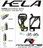 RaceOne kela Porte-bidon Cycle, Noir/Jaune, Unique