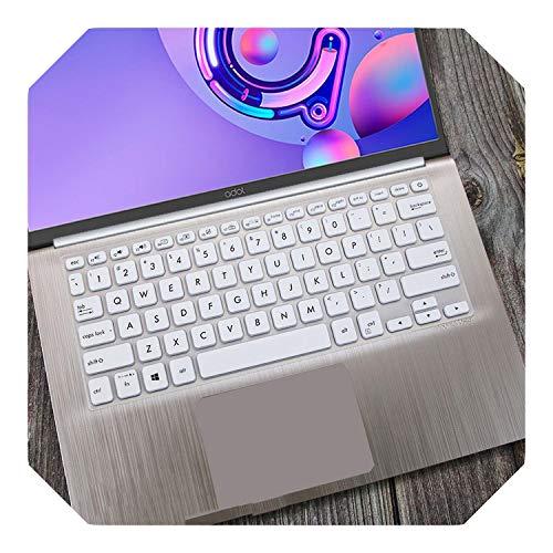 Funda protectora para teclado ASUS Vivobook 14 X412UA x412fl X412f x412fj x412DA x412ub X412 X412U X412D de 14 pulgadas, color blanco
