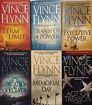 Vince Flynn - 6 Book Set - Transfer of Power - Separation of Power - Executive Power - Memorial Day - Act of Treason - Term Limits