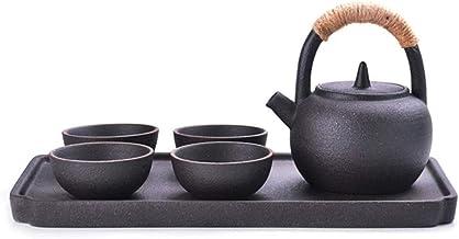 Tea Set Porcelain Exquisite Decor van het Huis cadeau naar huis Porselein Japanse Theepot met handvat en Theekopje Set for...