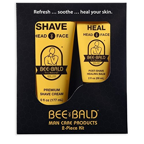 BEE BALD 2 Piece Skin Care Kit