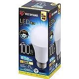 アイリスオーヤマ LED電球 口金直径26mm 広配光 100W形相当 昼白色 密閉器具対応 LDA12N-G-10T6