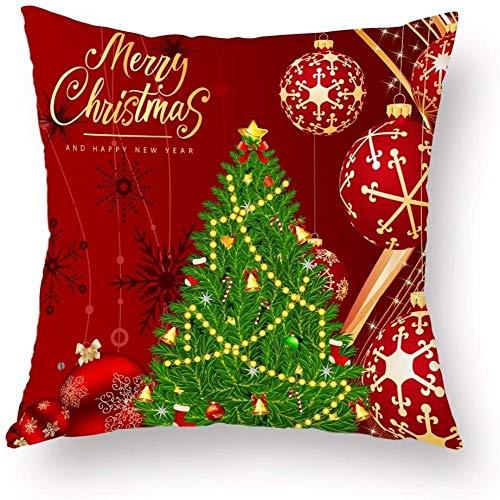 Kussen, Kussen sierkussen Kerstmis enkelzijdig afdrukken auto kussen, 5, Kleur: 8 (Color : 6)