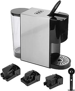 Machine à Café Capsule avec 3 Fentes pour Capsule et 1 Cuillère Cafetière à Capsules 1450W Capacité du Réservoir d'eau 600...