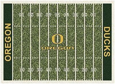 "Milliken Oregon College Home Field Area Rug, 3'10"" x 5'4"""