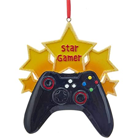 Kurt Adler Star Gamer Ornament W8364 New