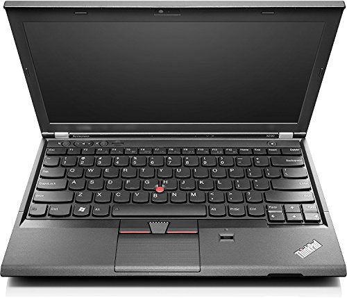 Lenovo Thinkpad X230 31,75 cm (12,5 Zoll HD) Notebook (Intel Core i5, 4GB, 320GB, Intel HD 4000, Webcam, Windows 10 Pro) schwarz (Generalüberholt)