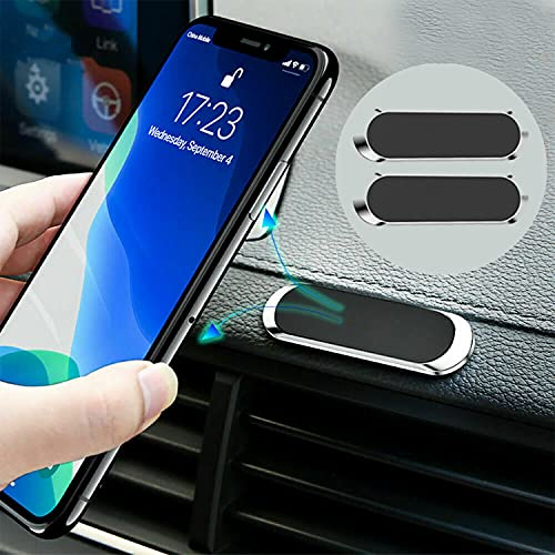 Magnético para Teléfono para Automóvil para iPhone 360° Soporte Magnético para Teléfono para Automóvil con Rotación para iPhone Soporte para Teléfono para Automóvil (2 Pack)