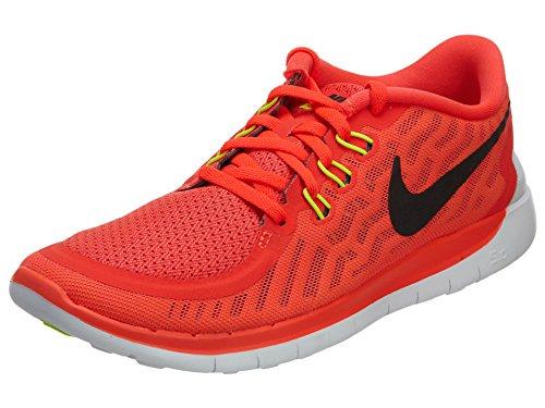 725104 600|Nike Free 5.0 (GS) Bright Crimson|38