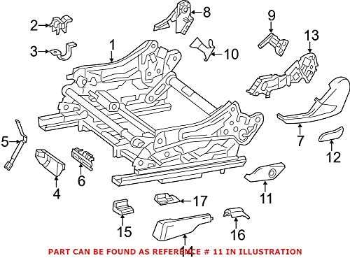 Genuine OEM Power Seat Switch 5% OFF Bezel Mercedes 16691011048N84 Sale Special Price for