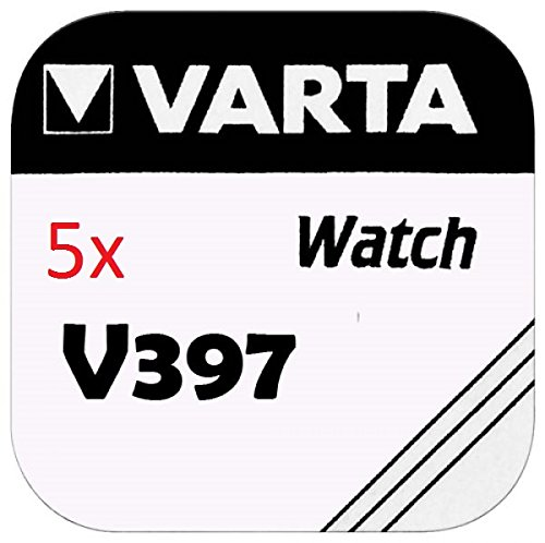 Varta Pile pour montre 1.55V-30mAh SR59 397.801.111 (1pc/bl) - lot de 5 pieces