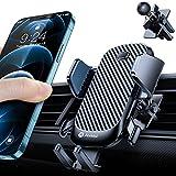 andobil Soporte de teléfono móvil para la rejilla de ventilación del coche 2021 diseño patente con 2 clips de ventilación, soporte giratorio 360°, para iPhone 12 Pro/11/11 Pro/Samsung S10/Huawei, etc.