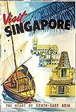 Poster Visit Singapore Malaysia Malaysia Malaysia Poster