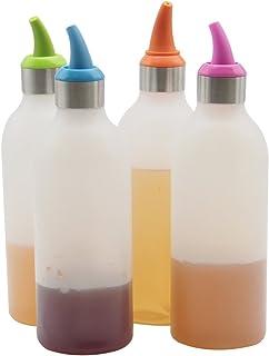 Multicolor /única Multicolor muscaridecoraci/ón Vidrio En Spray Aceiteras y recipientes para ali/ños Fiambreras bento-Porta Alimentos Art/ículos para el hogar Unisex Adulto