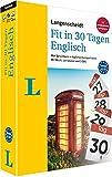 Langenscheidt Fit in 30 Tagen Englisch: Sprachkurs für Anfänger und Wiedereinsteiger mit Buch, 3 CDs und persönlichem Lernplaner: Der Sprachkurs in ... – mit Buch, 3 CDs und persönlichem Lernplaner