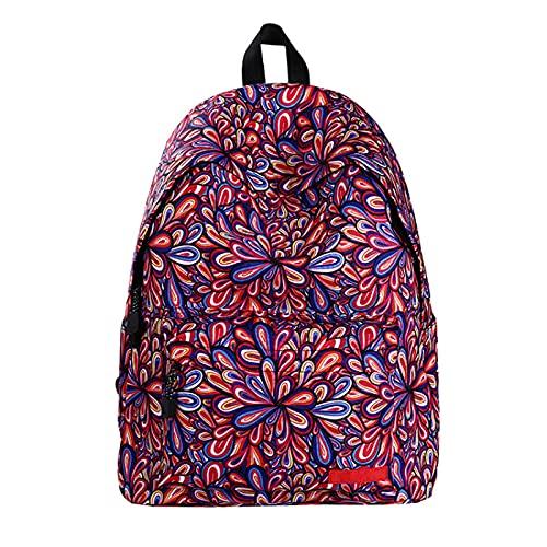 Meyyy, set di borse per la scuola per ragazzi e ragazze, resistente all'acqua, durevole, con astuccio per studenti, Colorato, 1 Piece