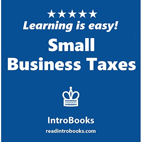 Small Business Taxes audiobook cover art