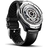 TicWatch Pro 2020 Fitness Smartwatch with 1GB RAM, built in GPS Layered Display Long Battery Life, NFC, 24H Heart Rate, Sleep Tracking Music, IP68 Waterproof, Wear OS by Google with Android iOS-Silver