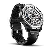 Ticwatch Pro 2020 Smartwatch RAM da 1 GB, Display a Strati per una Lunga Durata della Batteria, NFC, Frequenza cardiaca 24H, GPS IP68, Monitoraggio del sonno, Musica, Compatibile con Android e iOS
