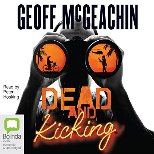 Dead and Kicking audiobook cover art