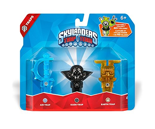 Skylanders Trap Team: : Air, Kaos, Earth by Activision