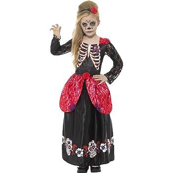 SmiffyS 45188M Disfraz De Chica Deluxe Del Día De Muertos Con ...