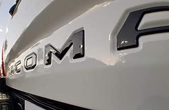 EyeCatcher Tailgate Insert Letters fits 2016-2020 Toyota Tacoma (Gloss Black)