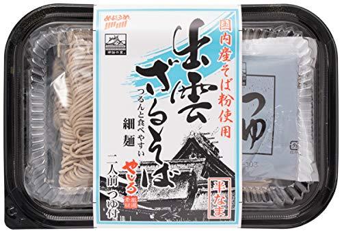 [なかたか] そば 国内産そば粉使用 出雲 ざるそば 細麺 320g(めん100g×2)