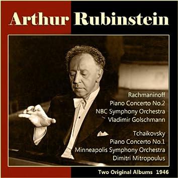 Rachmaninoff: Piano Concerto No. 2 - Tchaikovsky: Piano Concerto No. 1 (Two Original Albums, 1946)