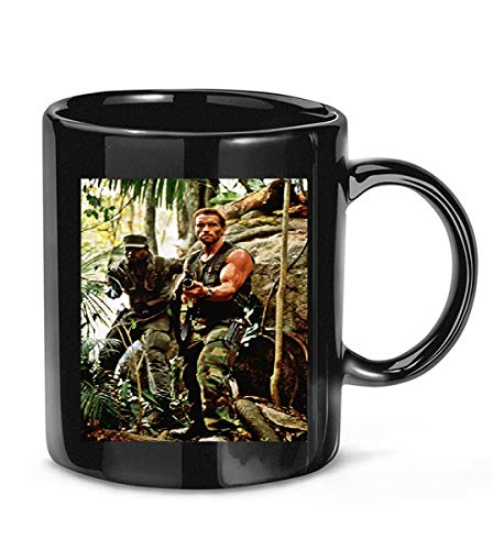 #Carl #Weathers #Rocky #Rocky #Iv Predator Happy Gilmoregraph Full Body W/Arnold Schwarzenegg Coffee Mug for Women and Men Tea