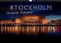 Stockholm - Nordische Schoenheit (Wandkalender 2022 DIN A3 quer): Die Stadt der Inseln (Monatskalender, 14 Seiten )