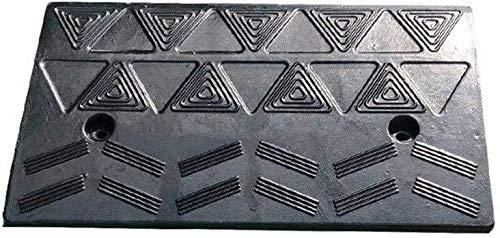 DJSMxpd Rampas Al Aire Libre Antideslizante portátil multifunción de Rampas de Coches con cuestas Mat Rampas Paso (Size : 50 * 27 * 10.5CM)