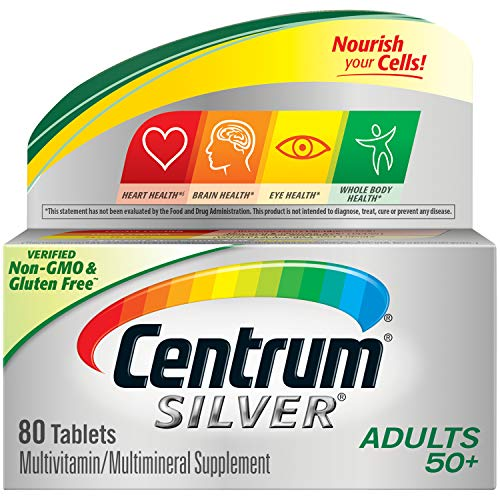 80-Count Centrum Silver Multivitamin for Adults 50 Plus $4.75 w/ S&S + Free Shipping w/ Prime or $25+